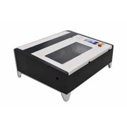 Ploter Laserowy CO2 40W MAX 40x40cm + Air Assist + Red Point